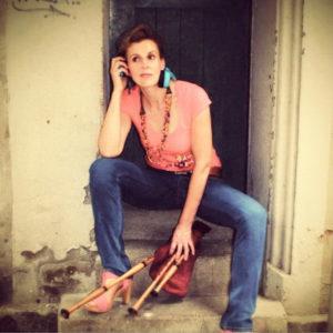 Andrea Hotzko (Dudelsäcke, Klarinette, Gesang)